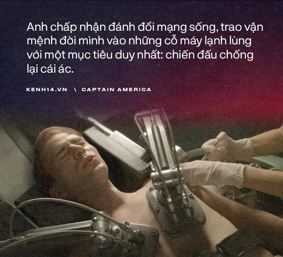 Dù là Captain America hay chỉ là một Steve Rogers, anh đã sống như một người đàn ông chân chính! - Ảnh 4.
