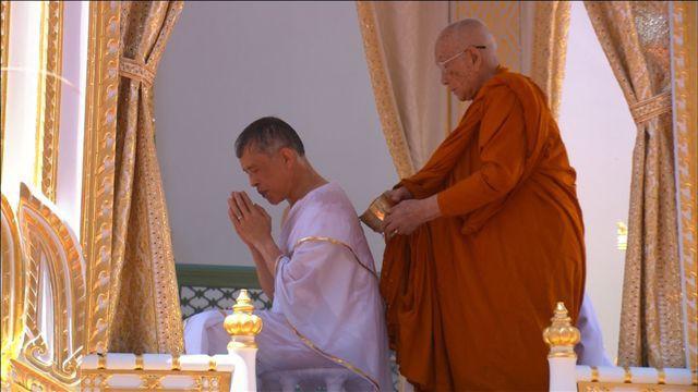 Toàn cảnh lễ đăng quang của Nhà vua Thái Lan Rama X - Ảnh 5.