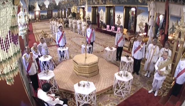 Toàn cảnh lễ đăng quang của Nhà vua Thái Lan Rama X - Ảnh 9.
