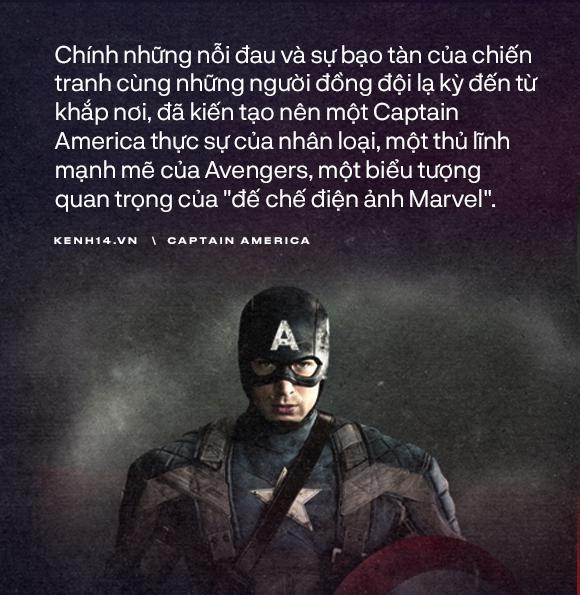 Dù là Captain America hay chỉ là một Steve Rogers, anh đã sống như một người đàn ông chân chính! - Ảnh 10.