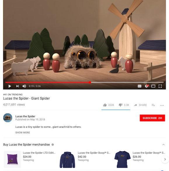 """google, youtube - photo 1 1557108827697844223137 - Google """"ủ mưu"""" thử nghiệm liên kết mua sắm hàng hóa dưới video YouTube"""
