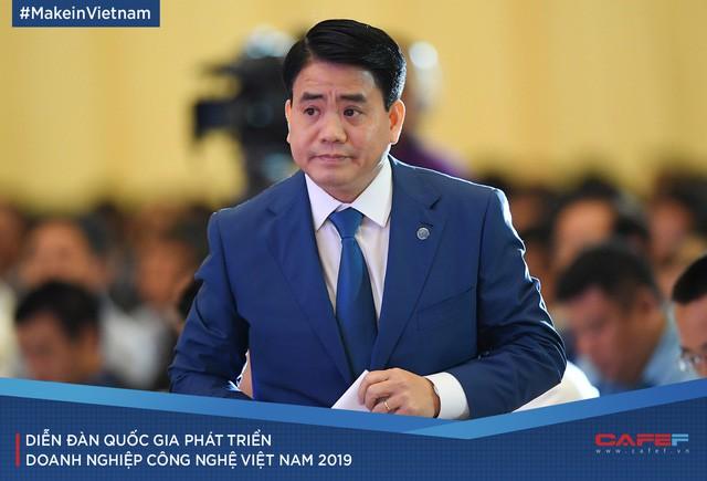 Những cung bậc cảm xúc tại Diễn đàn quốc gia Phát triển doanh nghiệp công nghệ Việt Nam 2019 - Ảnh 4.