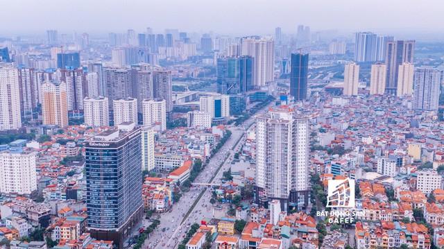 Nhìn từ trên cao, cả một rừng chung cư mọc lên ở khu trung tâm phía Tây Hà Nội - Ảnh 13.