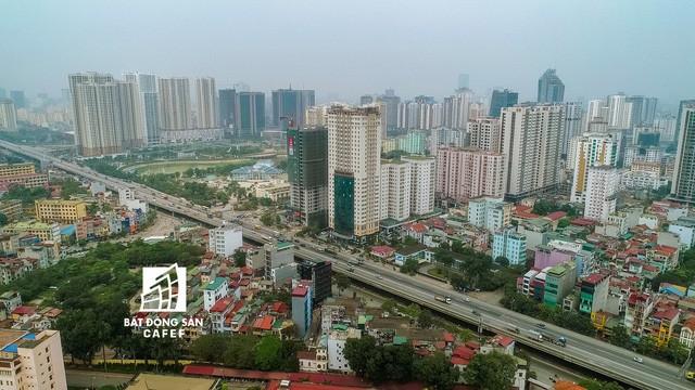 Nhìn từ trên cao, cả một rừng chung cư mọc lên ở khu trung tâm phía Tây Hà Nội - Ảnh 8.