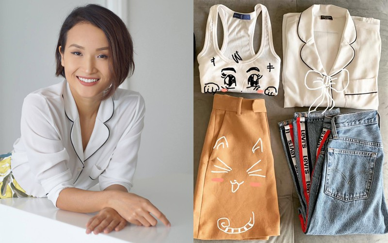 tái sử dụng quần áo cũ - photo 3 1560331358586226501435 - Sao Việt lẫn dàn KOLs nổi tiếng vẫn chăm chỉ tái chế quần áo cũ dù dư tiền mua đồ mới