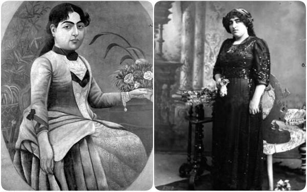 Choáng với nhan sắc nghiêng nước nghiêng thành của 2 cô công chúa con vua Ba Tư thế kỷ 19 - Ảnh 4.