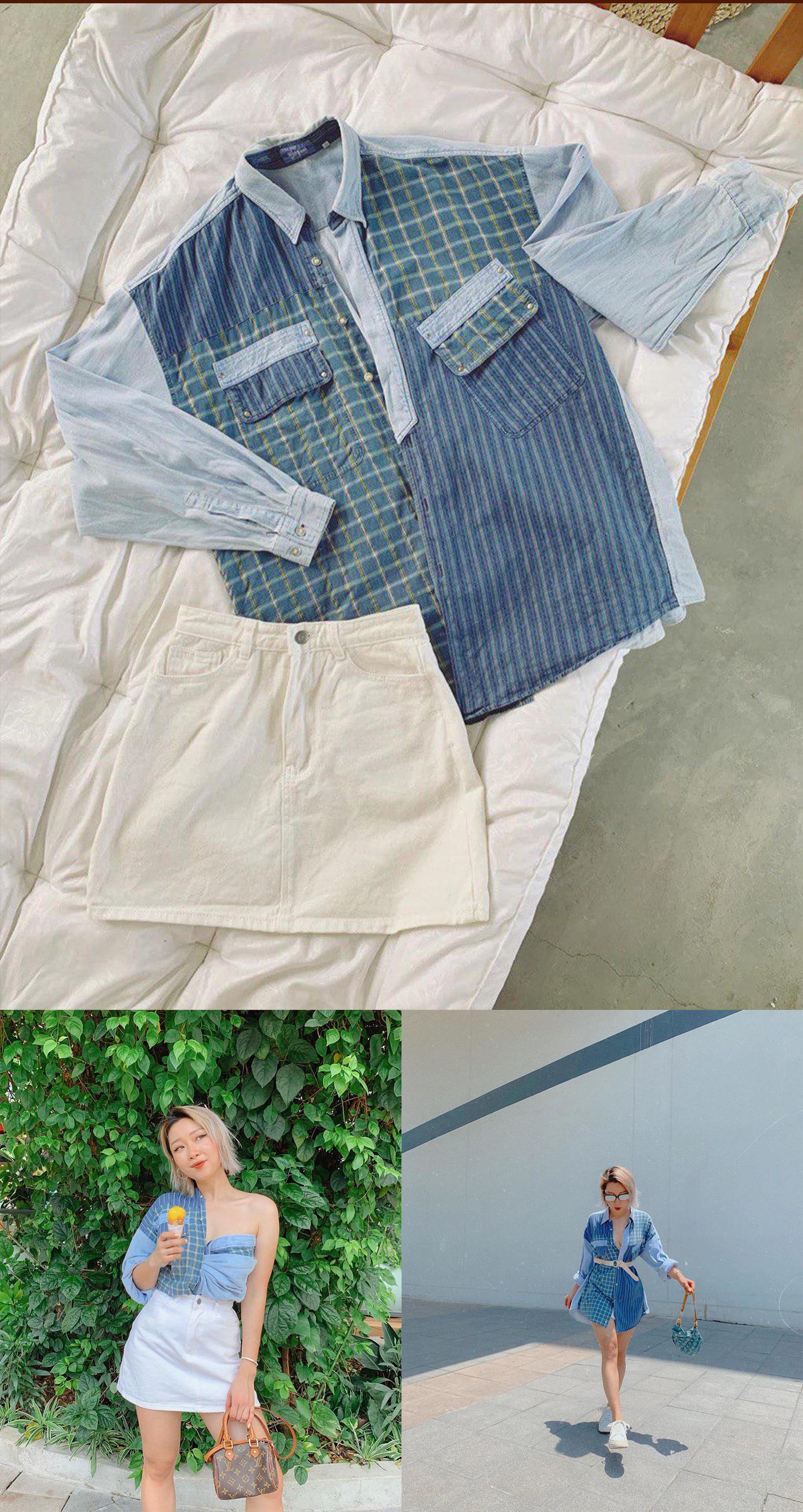tái sử dụng quần áo cũ - photo 4 1560331358588608451389 - Sao Việt lẫn dàn KOLs nổi tiếng vẫn chăm chỉ tái chế quần áo cũ dù dư tiền mua đồ mới