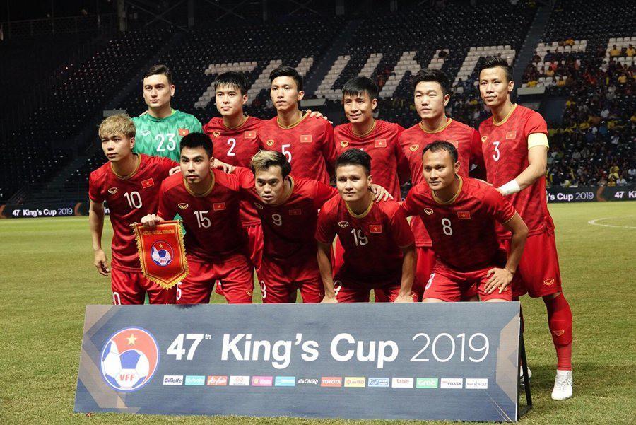 king's cup 2019 - photo 1 1560412277100588730318 - Tuyển Việt Nam tiếp tục thăng tiến trên BXH FIFA