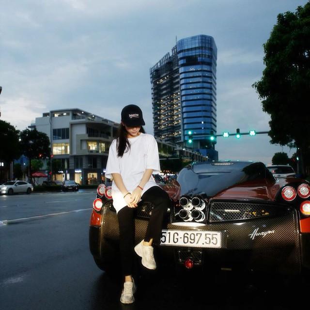 Con gái đầu doanh nhân Phạm Trần Nhật Minh khoe dàn đồ hiệu bên cạnh siêu xe Pagani Huayra đắt nhất Việt Nam - Ảnh 5.