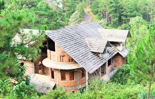 Hàng chục biệt thự nghỉ dưỡng trên đồi thông Đà Lạt bị bỏ hoang nhiều năm, xuống cấp nghiêm trọng - Ảnh 4.