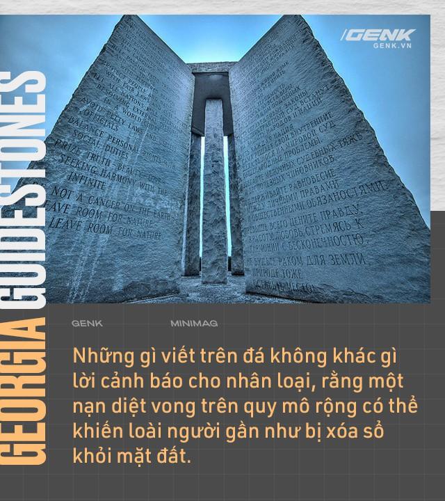 Cuốn cẩm nang khổng lồ làm bằng đá granite, hướng dẫn con người phải làm gì nếu như đại họa tận thế xảy ra - Ảnh 10.