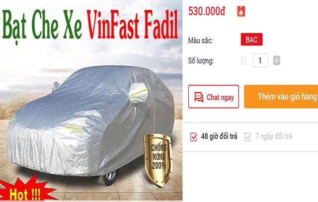 Dịch vụ ăn theo xe Vinfast Fadil nhộn nhịp, tiểu thương kiếm bạc triệu mỗi ngày  - Ảnh 1.