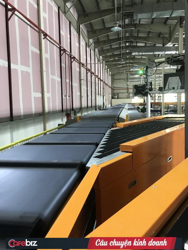 Giao Hàng Nhanh sắp có hệ thống băng tải tự động 100% đầu tiên tại Việt Nam, năng suất 30.000 đơn/giờ, tiết kiệm 600 nhân công - Ảnh 1.