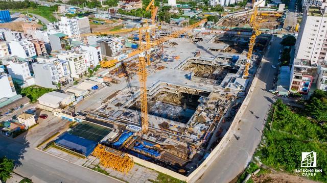 Cận cảnh dự án Raemian Galaxy City hơn 13.000 căn hộ nằm trong trung tâm Thủ Thiêm xây lụi  - Ảnh 11.