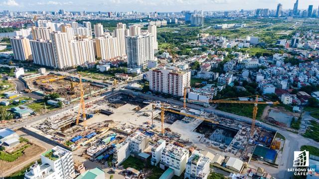 Cận cảnh dự án Raemian Galaxy City hơn 13.000 căn hộ nằm trong trung tâm Thủ Thiêm xây lụi  - Ảnh 4.