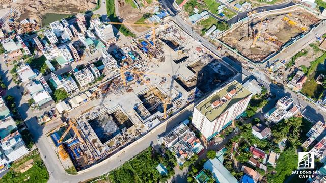 Cận cảnh dự án Raemian Galaxy City hơn 13.000 căn hộ nằm trong trung tâm Thủ Thiêm xây lụi  - Ảnh 7.