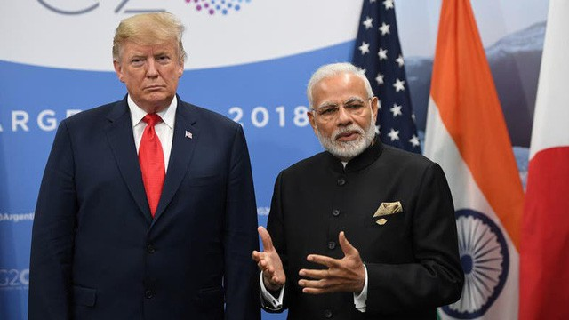Tổng thống Trump yêu cầu Ấn Độ rút lại đòn thuế quan trả đũa Mỹ  - Ảnh 1.