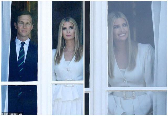 Ivanka Trump xinh đẹp tựa nữ thần, xuất hiện bất ngờ bên cạnh Hoàng tử Harry và thái độ của cả hai mới là điều đáng chú ý - Ảnh 1.