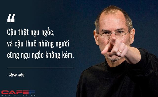 Cấp dưới mắc sai lầm, Steve Jobs chỉ mắng 1 câu duy nhất rồi dập máy nhưng khiến nhân viên nọ vừa biết ơn, vừa thán phục: Thô nhưng thật, làm lãnh đạo phải dám nói! - Ảnh 2.