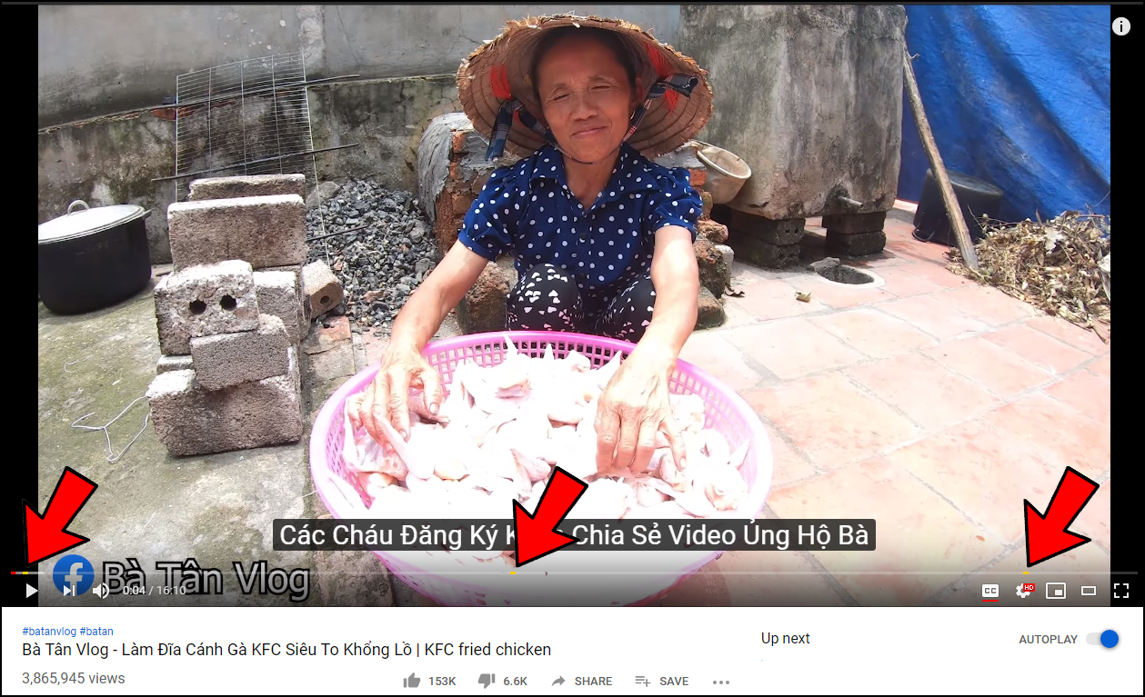 bà tân vlog - photo 1 15598937279421953407481 - Bà Tân Vlog đã được bật kiếm tiền YouTube, chính thức được chèn quảng cáo trong video