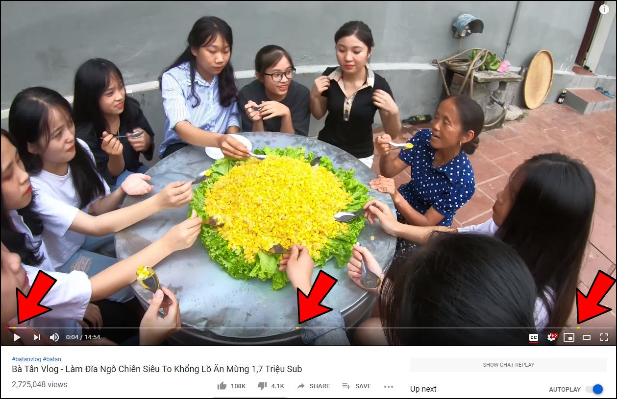 bà tân vlog - photo 2 15598937330721449243662 - Bà Tân Vlog đã được bật kiếm tiền YouTube, chính thức được chèn quảng cáo trong video