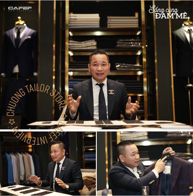 """Từ nghệ nhân cắt tay 52 bộ vest/ngày đến ông chủ Chương Tailor: """"Nếu chỉ vì vải tốt, sẽ chẳng sản phẩm nào của tôi có giá 600 triệu đồng"""" - Ảnh 2."""