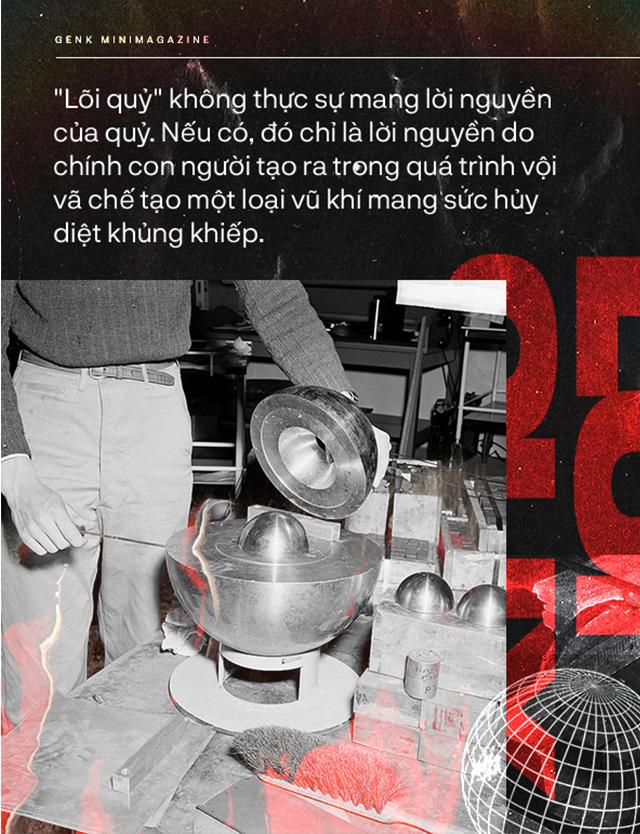 Đọc cuối tuần: Lõi quỷ, trái tim đầy nguyền rủa của quả bom nguyên tử thứ ba thả xuống Nhật Bản - Ảnh 11.