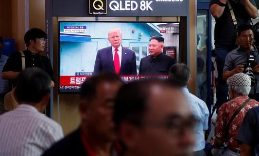 Cuộc gặp Mỹ-Triều chỉ là chiêu tái tranh cử của ông Donald Trump? - Ảnh 1.