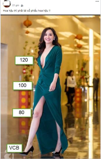 Hoa hậu Mai Phương Thúy gây sốt với tài dự đoán giá cổ phiếu, nhiều nhà đầu tư đùa vui gọi là cổ phiếu hoa hậu - Ảnh 3.