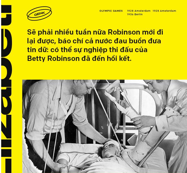 Đôi chân kỳ diệu của Elizabeth Betty Robinson: thần đồng điền kinh chạy vượt mặt tử thần - Ảnh 5.