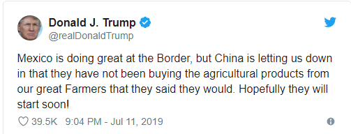 Tổng thống Trump bức xúc tố Trung Quốc bội ước, thất tín - Ảnh 1.