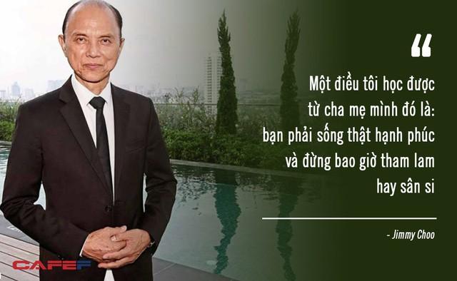Người đàn ông từng làm mưa làm gió với thương hiệu Jimmy Choo, thiết kế giày cho cố công nương Diana: Đừng bao giờ tham lam hay sân si! - Ảnh 1.