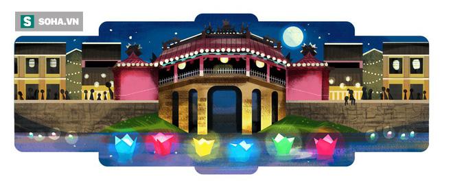 google doodle - photo 1 1563242226205765524289 - Hội An quyến rũ xuất hiện trên Google Doodle 16/7: Lý do Google tôn vinh là gì?