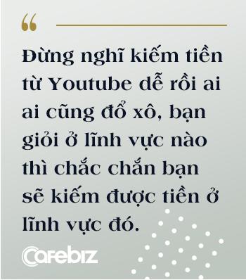 """Bỏ công việc kỹ sư để theo đuổi nghề Youtube bất ổn, nhiều người nói sinh ra ở vạch đích, travel vlogger Khoai Lang Thang cười: """"Tôi không giàu, tôi thậm chí được sinh ra ở nông thôn"""" - Ảnh 7."""