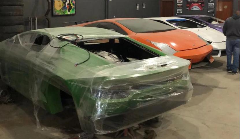 Bên trong nhà máy sản xuất siêu xe Ferrari, Lamborghini nhái - ảnh 5