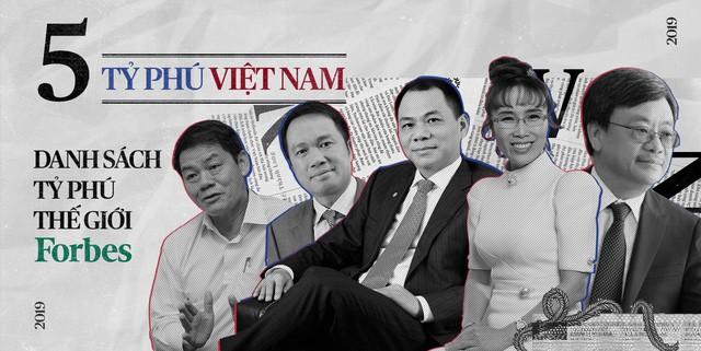 6 tháng đầu năm 2019, các tỷ phú Việt thay đổi ra sao trên bảng xếp hạng thế giới? - Ảnh 1.