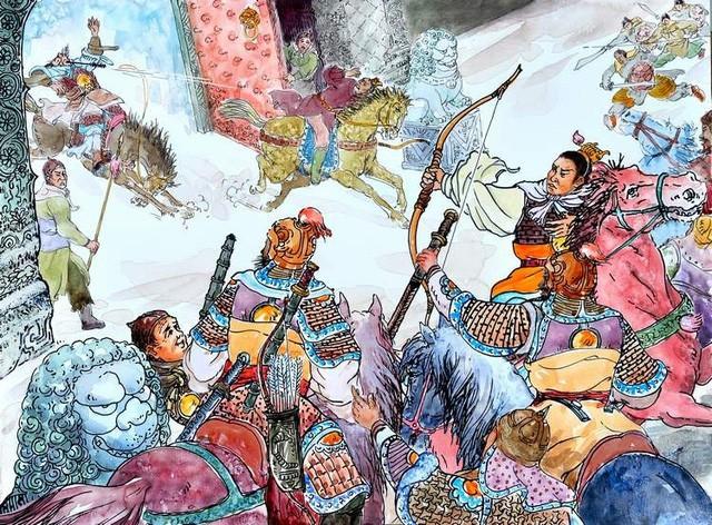 Bị con ép nhường ngôi, vua Đường Lý Uyên nói 1 câu độc địa, không ngờ ứng nghiệm lên con cháu - Ảnh 2.