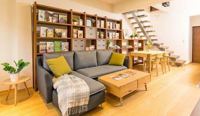 Căn chung cư 2 tầng giá bình dân đẹp mỹ mãn, ai cũng mê - Ảnh 1.