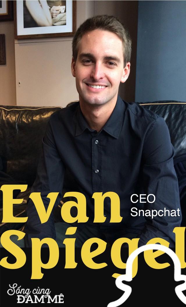 """Chuyện khởi nghiệp táo bạo của gã điên thiên tài Evan Spiegel: Thiếu gia """"vượt sướng"""" dựng cơ nghiệp tỷ đô, cạnh tranh với cả Facebook - Ảnh 6."""