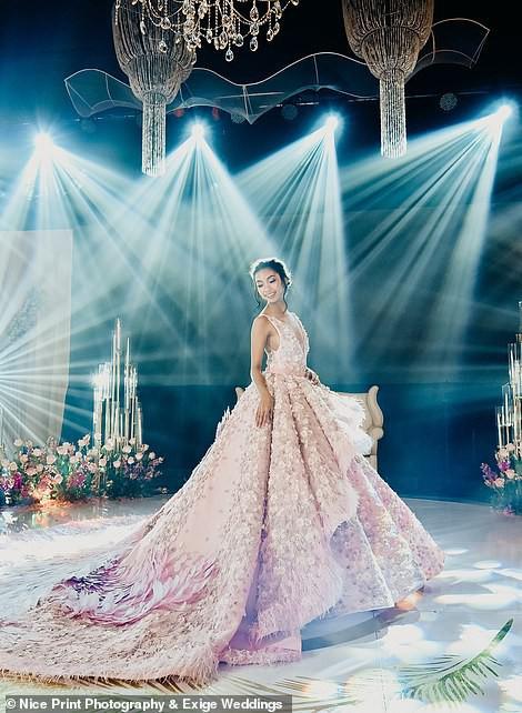 Tiệc sinh nhật xa xỉ gần 700 triệu của ái nữ nhà giàu, khách mời còn được tặng túi Louis Vuitton mang về - Ảnh 4.