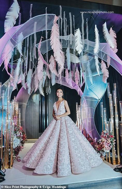 Tiệc sinh nhật xa xỉ gần 700 triệu của ái nữ nhà giàu, khách mời còn được tặng túi Louis Vuitton mang về - Ảnh 5.