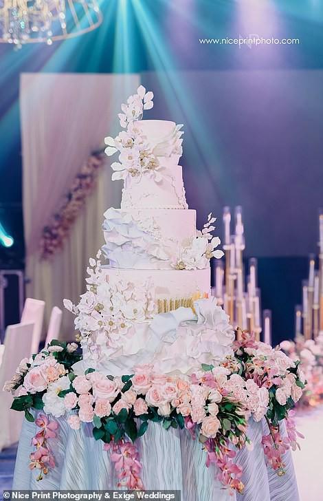 Tiệc sinh nhật xa xỉ gần 700 triệu của ái nữ nhà giàu, khách mời còn được tặng túi Louis Vuitton mang về - Ảnh 8.