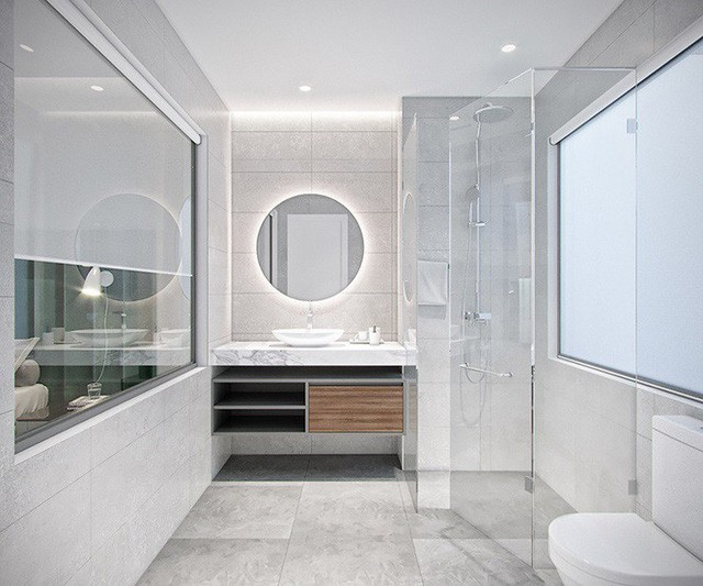Nhà 1 tỷ đồng sang trọng, đẹp miễn chê nhờ thiết kế độc đáo - Ảnh 8.