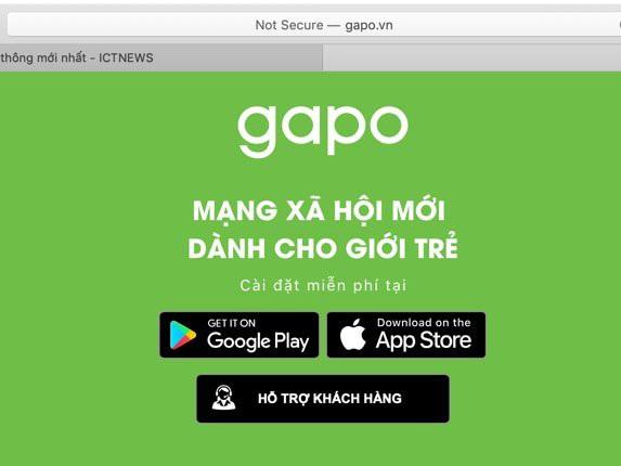 Gặp nhiều lỗi trong ngày đầu ra mắt, MXH Gapo thông báo bảo trì hệ thống - Ảnh 2.