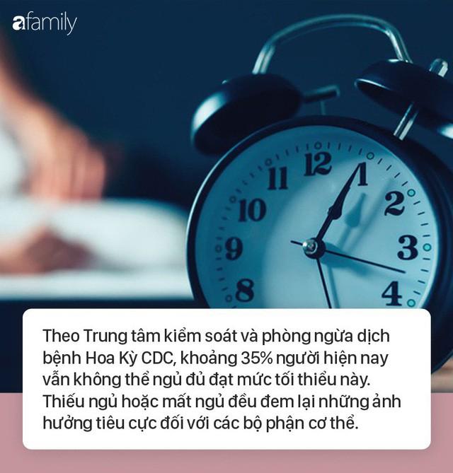 Người trưởng thành nên ngủ ít nhất 7 tiếng mỗi đêm nếu không những điều kinh khủng sẽ đến với toàn bộ cơ thể  - Ảnh 1.