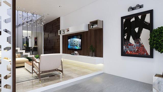 Nhà phố 56 m2 thiết kế đẹp như biệt thư hạng sang - Ảnh 2.