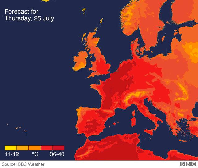 Giao thông đình trệ tại châu Âu vì sóng nhiệt kỷ lục  - Ảnh 2.