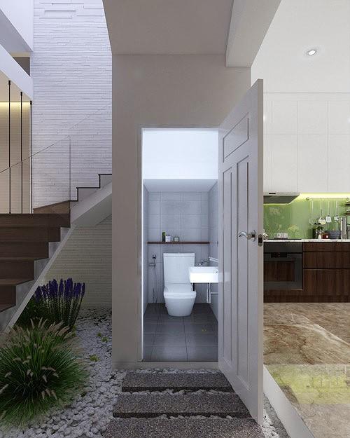 Nhà phố 56 m2 thiết kế đẹp như biệt thư hạng sang - Ảnh 3.