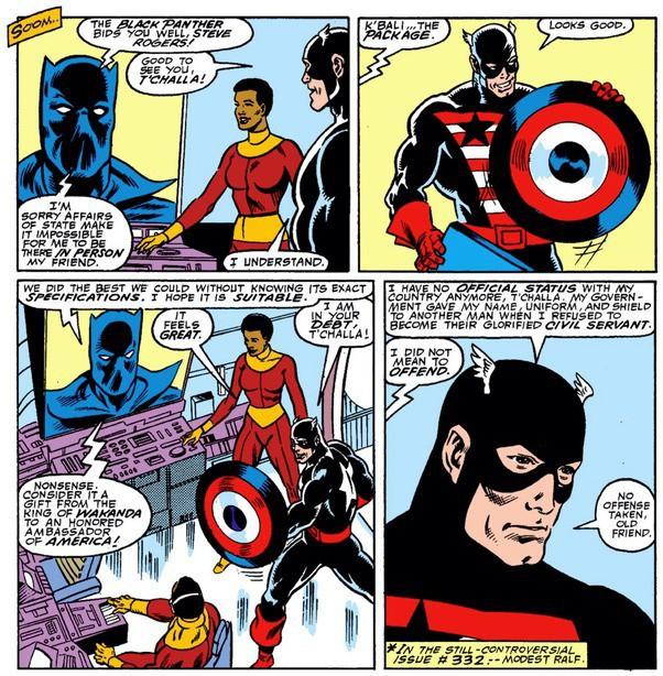 Tại sao trong vũ trụ điện ảnh của Marvel, khiên của Captain America lại được làm từ Vibranium thay vì Adamantium giống như trong truyện ? - Ảnh 2.