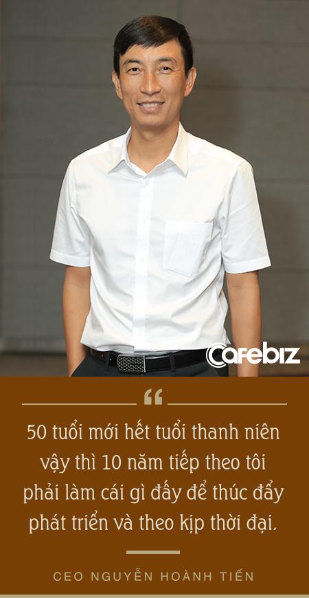 CEO Nguyễn Hoành Tiến: 50 tuổi mới hết tuổi thanh niên và chọn Seedcom bởi không học sẽ… chết! - Ảnh 3.
